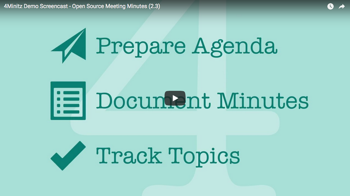 how to prepare minutes of meeting